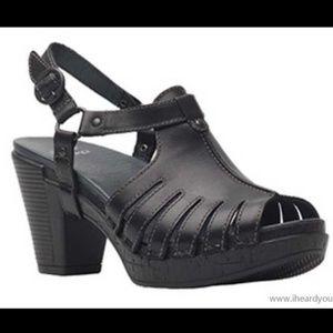 Dansko Randa Sandals Clogs Shoes worn once 40